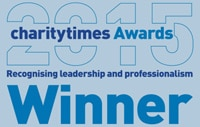 Charity Times 2015 Awards Winner Logo